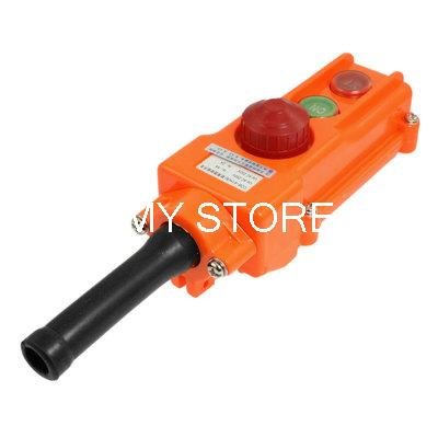 Red Cap ON-OFF Momentary Push Button Switch AC 250V 5A for Crane<br><br>Aliexpress