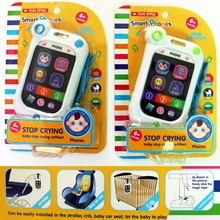 3 Colors Baby Learning & Education Sound Music Smartphone Model Talking Toys For Kids Mobile Cell Phone Toy(China)