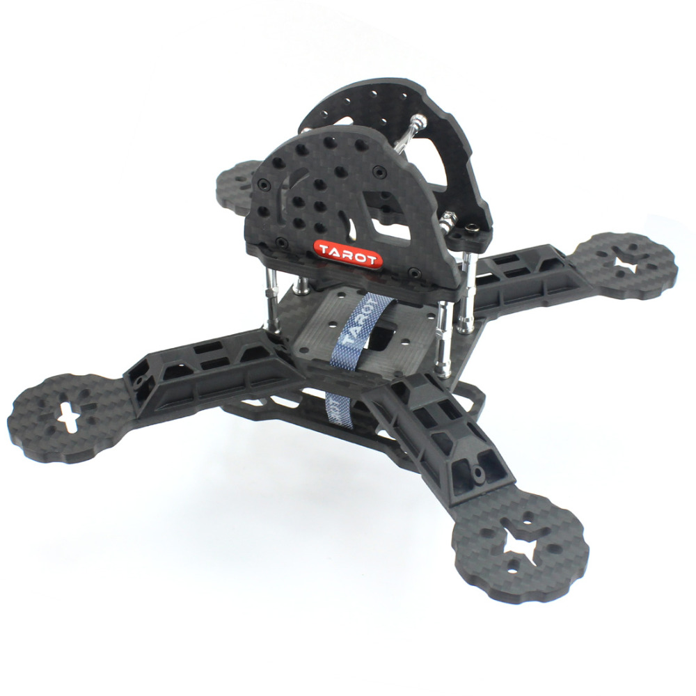Tarot TL190H2 190mm Carbon Fiber  Frame Kit With 4mm Arm for RC Camera FPV Racing  Drone Accessories F18893<br>