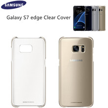 Original Clear Cover Protective Phone Case EF-QG935 for Samsung Galaxy S7 edge Ultra Slim Back Case