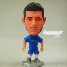 "Football star Soccer Player Star 9# MORATA (C-2018) 2.5"" Toy Doll Figure 2017/2018(China)"