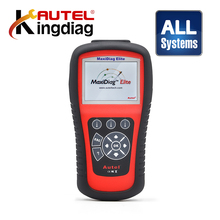 All Systems Diagnostic Tool 100% Autel MaxiDiag Elite MD802 + DS model MD 802 PRO OBDII/EOBD Scanner DHL free(China)