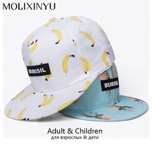 MOLIXINYU Snapback Caps For Adult And Child Baseball Cap Baby Hip Hop Hat Parent-child Boy Girl Hats Outdoor Sports Sun Hat(China)