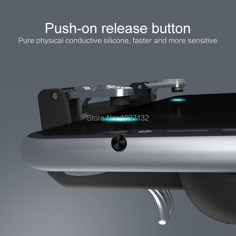 PUBG Mobile Game Controller Gamepad Trigger Aim Button L1R1 Shooter Joystick For IPhone Android Phone For Game Pad Accesorios (1)