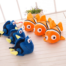 New Hot 25cm/40cm Movie Finding Dory Plush Fish Clownfish Nemo Soft Stuffed & Plush Animals Toys Doll Plush Toys Kids Toy Gifts