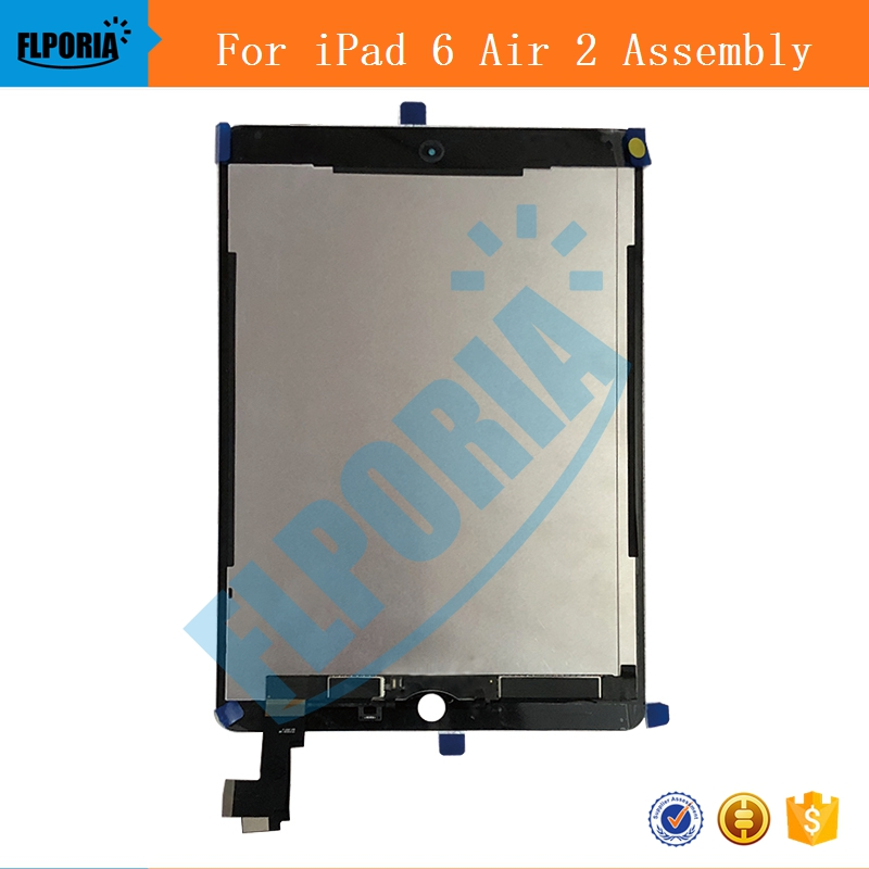 IPHT0222 A1567 A1566 LCD Digitizer Assembly For iPad Air 2 LCD Screen Assembly Display Digitizer Assembly Black White (2)