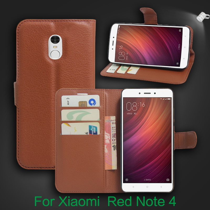 LEPHEE Xiaomi Redmi Note 4X Case Note 4 Wallet PU Flip Leather Stand Card Holder Cases Redmi Note4 4 Pro Global Version Cover