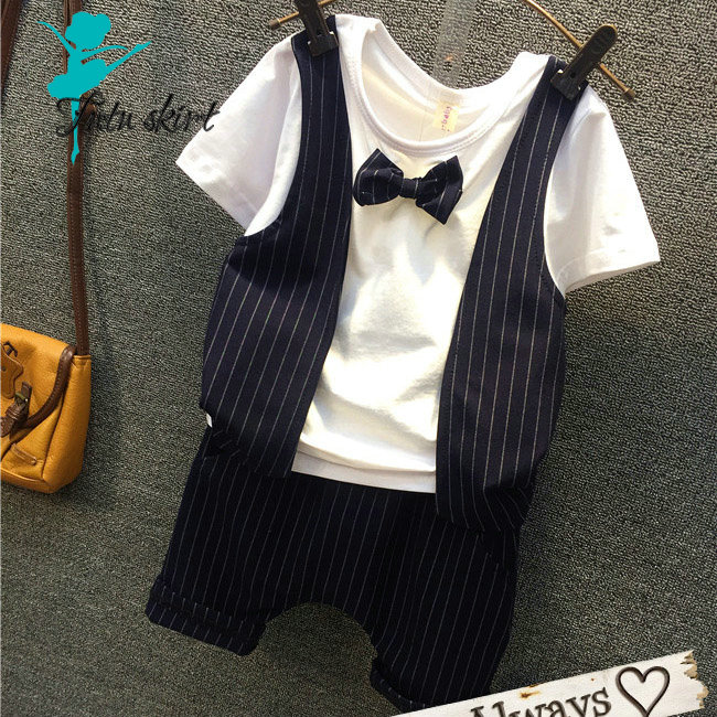 Tie wedding suits for baby boys clothes sets gentleman suit toddler birthday dress boys formal wear clothing Costume<br><br>Aliexpress