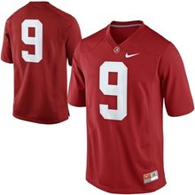 NIKE Alabama Crimson Tide Amari Cooper 9 College Ijshockey Jerseys Limited Jerseys-Wit Maat M, L, XL, 2XL 3XL(China)