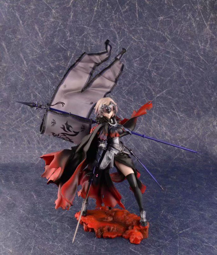 Anime Fate Grand Order Avenger Jeanne d\`Arc Alter Figma 390 Cute Action Figures PVC Doll Collection Model Toys Gifts (5)