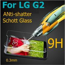 2pcs For Glass LG G2 Tempered Glass For LG G2 Screen Protector For LGG2 Protective Film F320 F800 F801 F802 D803 D805 Wolfsay