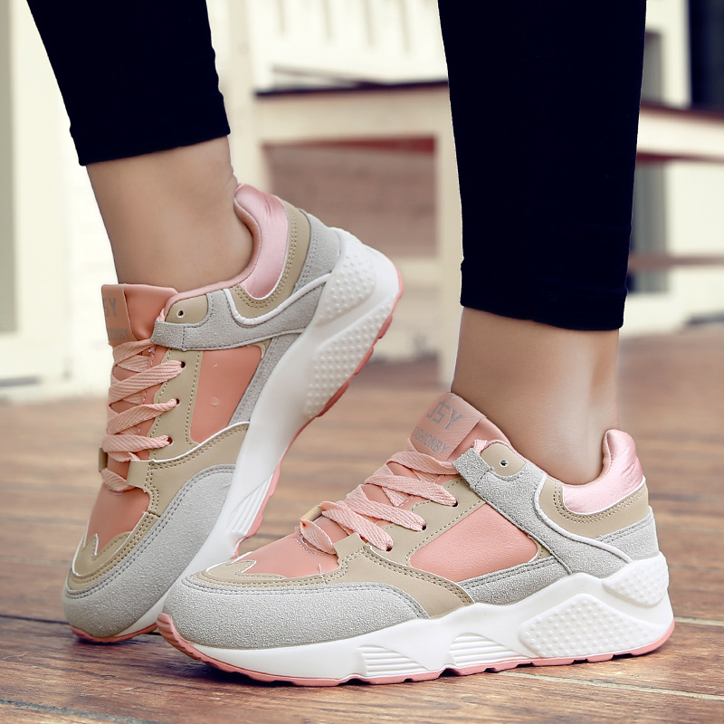 Autumn Running shoes for women sneakers Athletic walking shoes breathable outdoor sport shoes woman zapatillas deportivas mujer 47