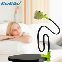 Cobao Universal mobile phone holder 360 degree Lazy people long holder Snake Desktop mount Stand For iPhone 5 6 Sansumg HTC LG