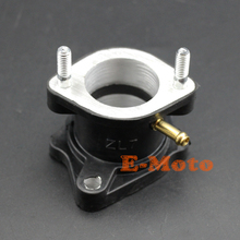 30mm PZ30 Carby Carb Carburetor Intake Manifold Straight For 200cc 250cc PIT Quad Dirt Bike ATV Buggy(China)