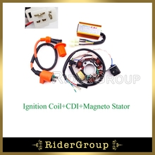 Racing Ignition Coil 6 Poles Magneto Stator AC CDI Box For Chinese ATV Go Kart GY6 50cc Engine Moped Scooter