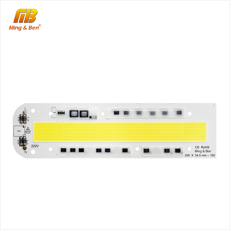 [MingBen] LED COB Chip Lamp 30W 50W 70W 100W 150W AC 220V 110V IP65 Smart IC Fit For DIY LED Floodlight Cold White Warm White