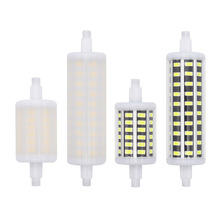 New 78mm 118mm Dimmable R7S Led 8w 15w 360 Degree corn light Lampada ed SMD 5730 Bulb for Floodlight(China)