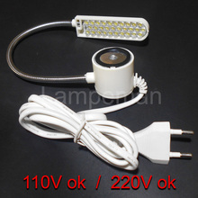 Magnetic Mounting Base 1 2W 10LED Sewing Machine Light Working Gooseneck Lamp Industrial Sewing Machine or Home Working Lighting