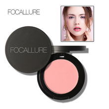 New 1Pc Palette Face Makeup Shimmer Blusher Brighten Lightening Blush Natural Pressed Cheek Blush Face Care Cosmetic
