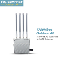 High power omni directional wireless AP COMFAST CF-WA850 802.11 Ac/b/g/n outdoor WiFi cover base station 1750M WiFi routers(China)