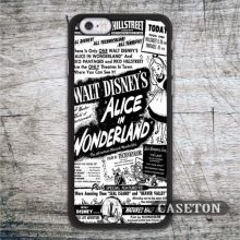 Alice In Wonderland Black White font b Case b font For font b iPhone b font