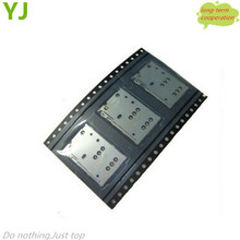 Free shipping 10 pieces/lot wholesale For Nokia N8 / C7 sim card Slot Tray holder Replacement Parts OEM