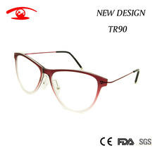 NEW Italy Design Eyewear Frames Women Fashion Clear Lens Glasses TR90 Super light weight Woman Red Eyewear Glasses Female 3310(China)