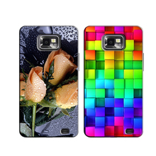 Printed Phone Cases for Samsung Galaxy S2 S 2 SII i9100/S2 Plus i9105 4.3 inch Original Back Cover Case Shell Skin Coque Capa(China)
