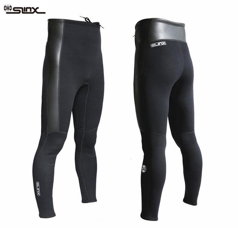 SLINX 2mm  Neoprene Diving Pants For Men Winter Swimming Running Sailing Surfing Wetsuit Material Keep Warm Black Swim Beach Pan<br>