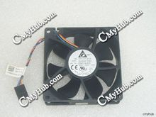 Genuine For Dell Server For  Delta QUR0812SH AD01 0FKG1H 0DW014 0DW014-A00 DC12V 0.50A 5Pin 4Wire Server Cooling Fan