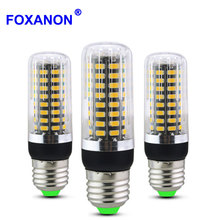 Dimming Led Bulb E27 E14 Led Corn Lamp No Flicker 5W 10W 15W 220V Smart Three Level Dimmer Leds Bulb 5733SMD Leds Dimmable Lamps(China)