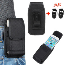 New Designer Cell Phone Case with Metal Belt Clip Holstor Pouch For iPhone 6plus For Samsung Galaxy S7 + 2 Shoelace Buckle YM1