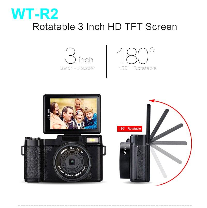 "Free shipping winait max 24mp digital camera full hd 1080p with 3.0"" TFT display"