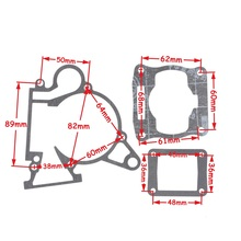 Gasket Set 39CC Water Cooled Engine MT A4 Blata STYLE C3 Mini Moto Pocket bike(China)