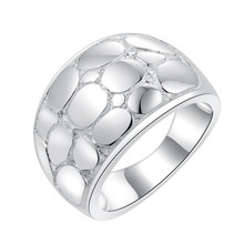 2018 Super Deal HEAVY Ring silver Big Ring exaggerated Snakeskin football fashion Ring women lady gift unique jewelry(China)