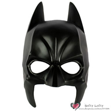 Free Shipping Best Quality Bat Mask for man Toy Halloween Costumes Super Hero Theme Dress up party props Horror Prank Joke Gifts(China)