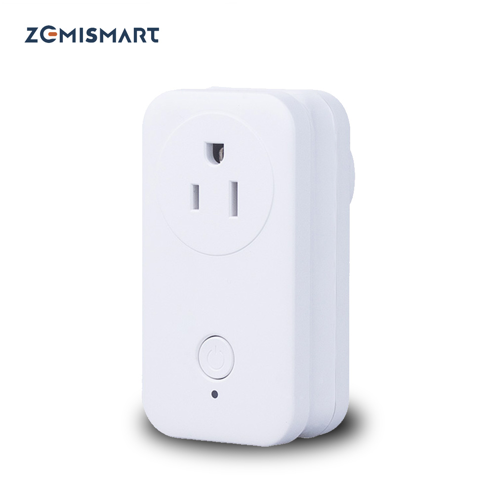 Zigbee 3.0 US Power Socket Compatible With SamrtThings Echo Plus Smart Gadget Switch Wireless Phone APP Remote Outlet