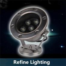 7W LED Underwater Lights Spotlights Stainless Steel Fountain Pool Lamps Park Outdoor Landscapet Lighting Fish Pond Spotlights