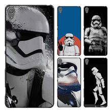storm trooper star wars Style Case Cover for Sony Ericsson Xperia X XZ XA XA1 M4 Aqua E4 E5 C4 C5 Z1 Z2 Z3 Z4 Z5(China)