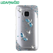 HOT 3D Luxury Bling Crystal Diamond Hard DIY Case for HTC One M7/310/820 mini 620/520/Google Pixel/A9s/601/One M8/m9