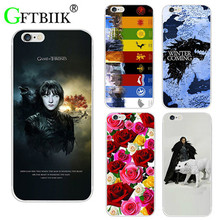 For Game Of Thrones 7 Case For Apple Ipod Touch 4 4G Cover Hard Plastic Printed Phone Back Shell Football Case(China)