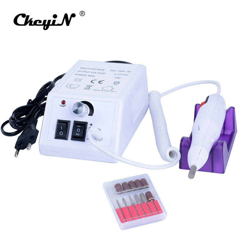 Professional Accessory Nail Art Tools Grinding And Pedicure Electric manicure drill machine Nail Tools File Bite Sanding Band<br>
