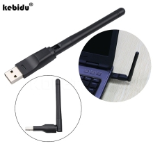 Original 150M USB 2.0 WiFi Wireless Network Card 802.11 b/g/n LAN Antenna Adapter with Antenna for Laptop PC Mini Wi-fi Dongle