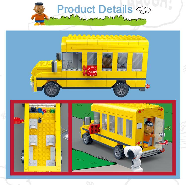 BanBao 7506 School Bus Cars Building Blocks 27