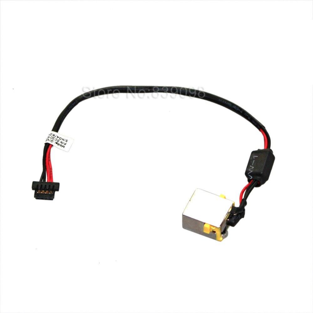 Lenovo DC30100L100 DC30100LI00 DC Power Jack w// Cable Port Socket Connector Port