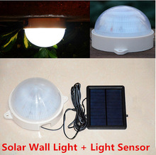 Solar LED Street Lights Outdoor Wall Lamps Solar Garden Pathway Lights Solar Powered Panel LED Light Sensor Spotlights