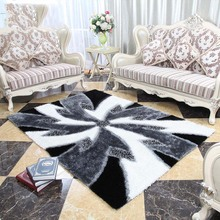 New Style Windmill Pattern Carpet Living Room Sofa Coffee Table Pad Modern Simple Bedroom Carpets(China)