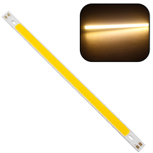 200 x 10MM LED Strip Light Lamps Bulb High Quality 10W 1000LM Super Bright For DIY Warm White Pure White COB 12V