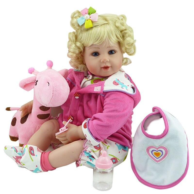 Reborn Baby Doll 55CM Silicone Reborn Doll Toys 20inch Lifelike Doll Reborn Babies Realistic Newborn Babies Dolls Brinquedos<br><br>Aliexpress