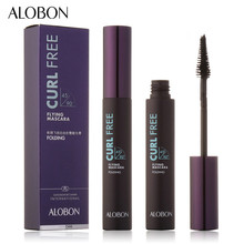 FEG Nanda ALOBON Pro Beauty Makeup Eyes Mascara Curling Fast Quick Dry Eyes Mascara Makeup Flying Mascara